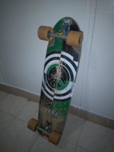 Seismic alphas wheels on my board