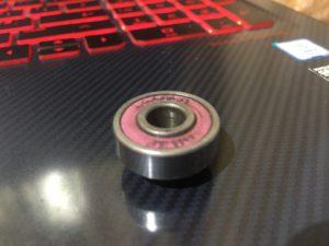 Loaded jehu bearings rubber shield