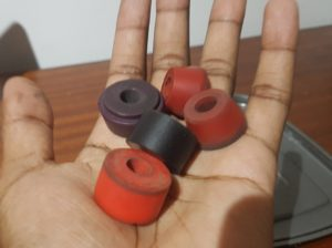 Skateboard truck bushings