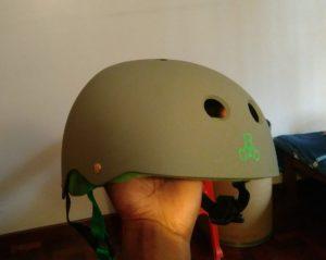 Triple 8 sweatsaver helmet outside