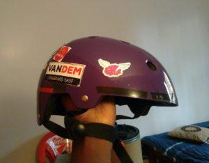 Triple 8 brainsaver helmet