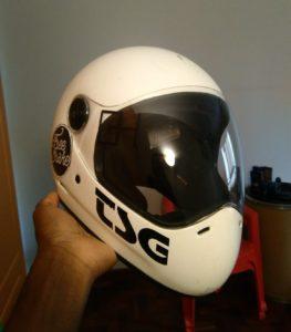 TSG Pass full-face helmet