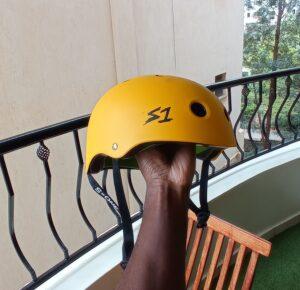 S-one lifer half-shell helmet