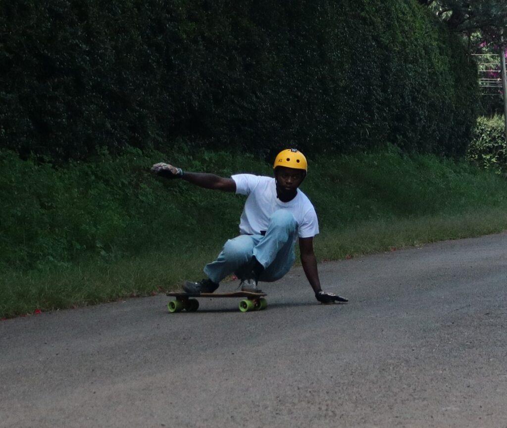 longboard predrift slide